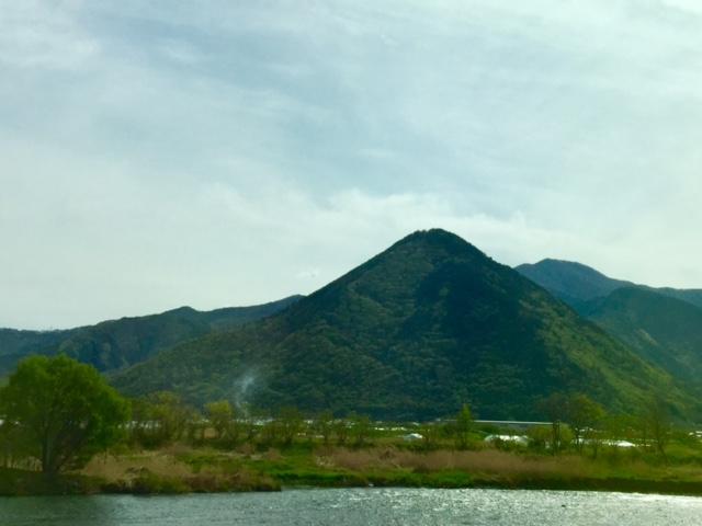おしぼりうどんと三角山